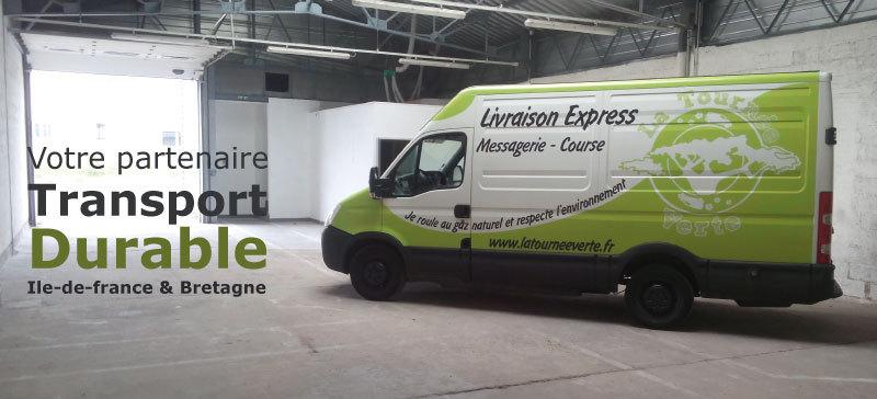 La Tournée Verte, votre partenaire Transport Durable